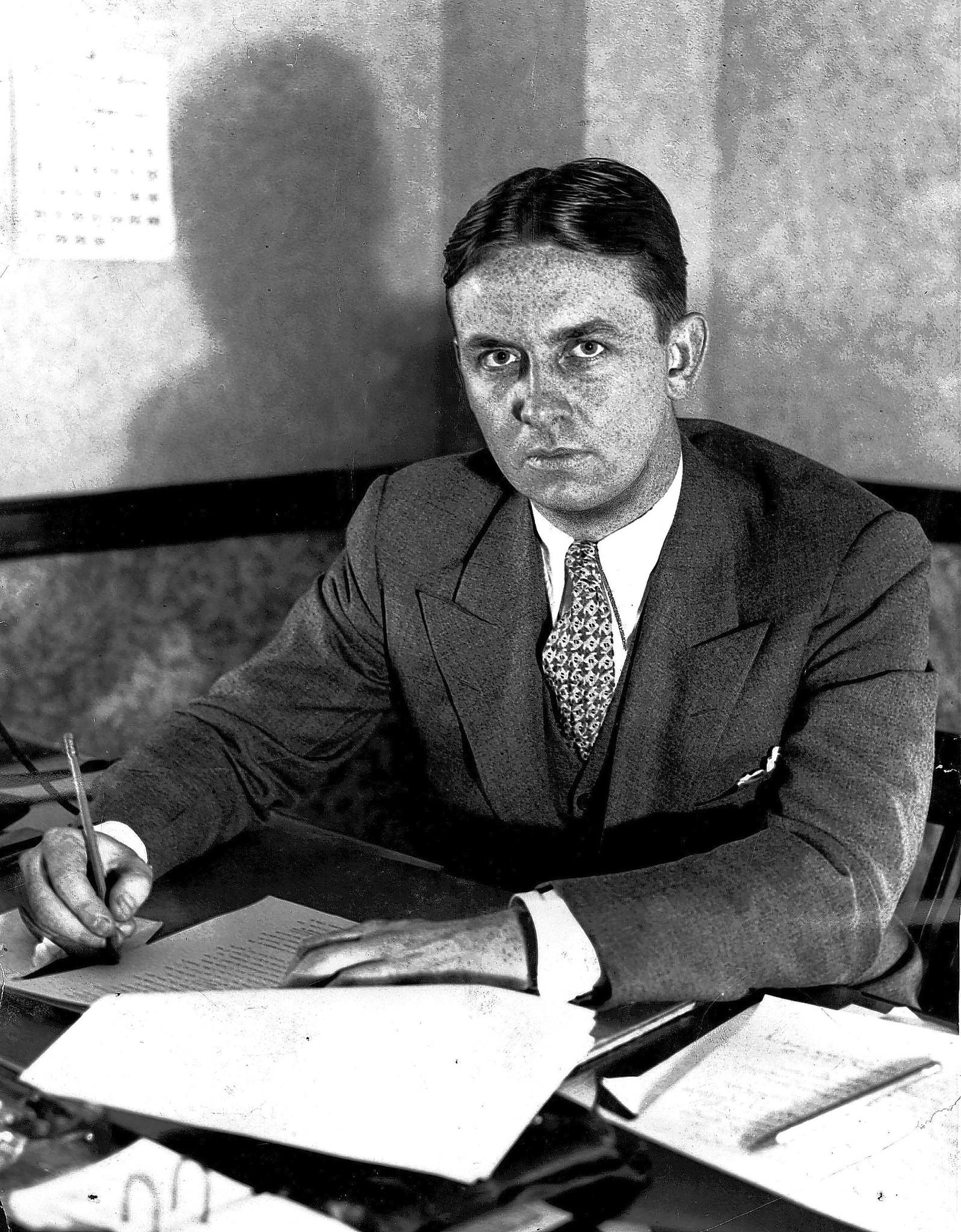 File photo of federal agent Eliot Ness.