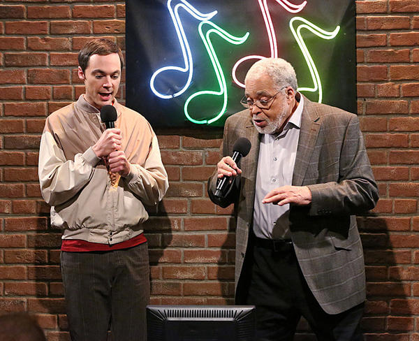 Jim Parsons, James Earl Jones