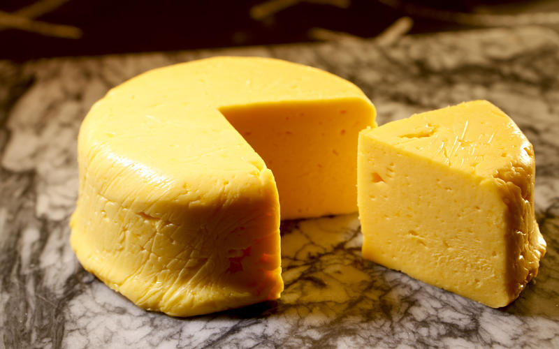 Homemade processed cheese