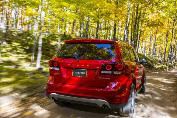 The Crossroad is a new trim level for the Dodge Journey crossover, whic