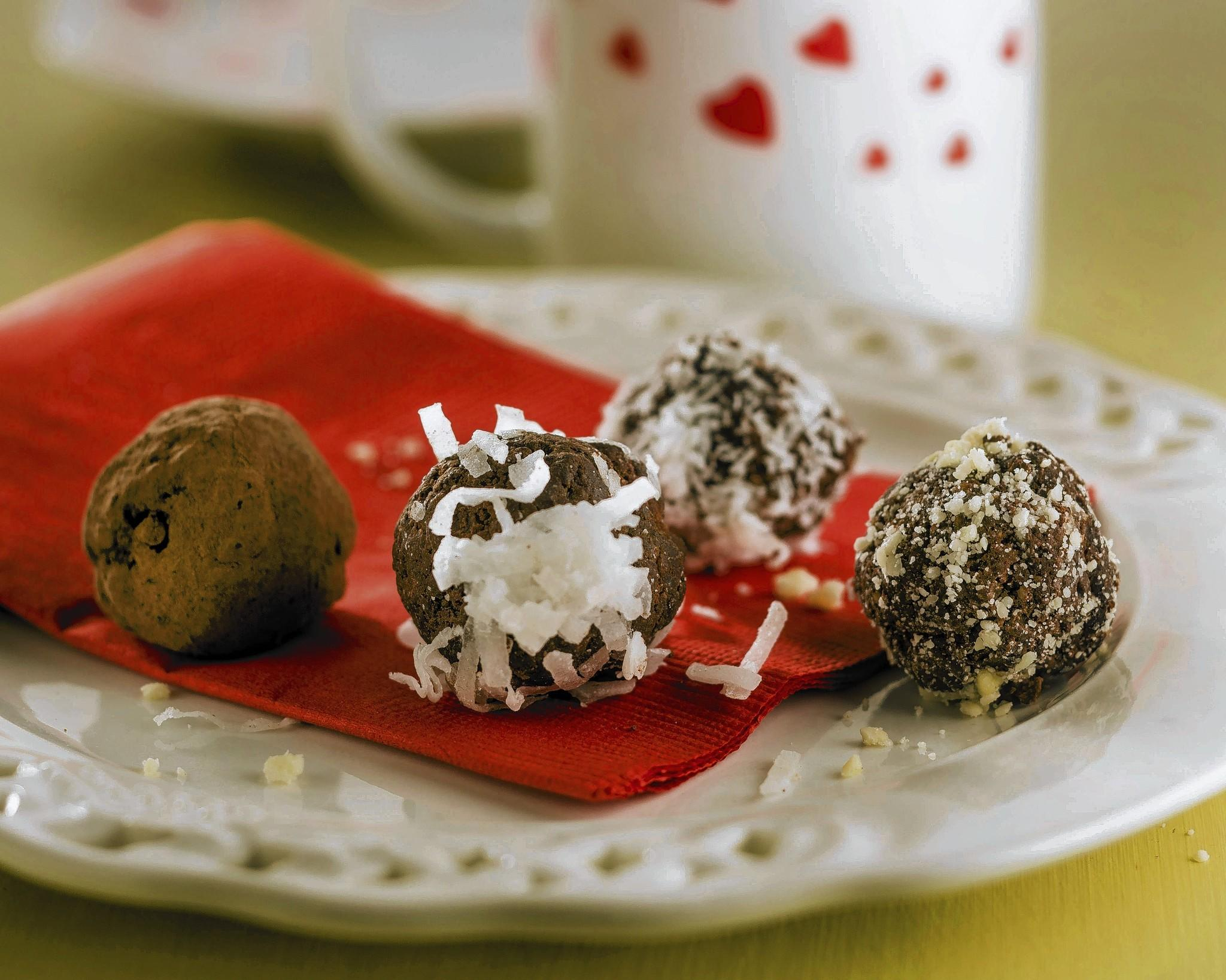 Vegan mocha truffles for Valentine's Day. (Bill Hogan, Chicago Tribune ...