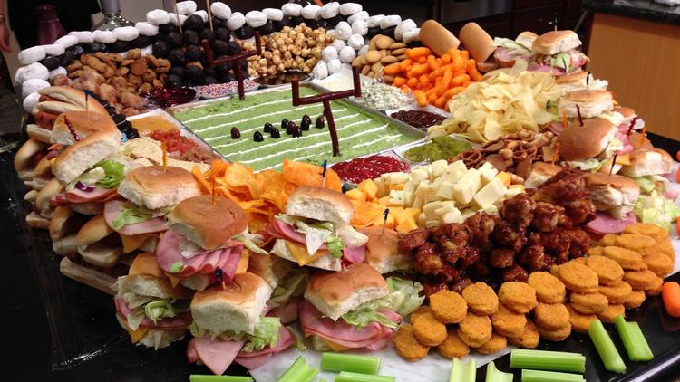 Food football stadium