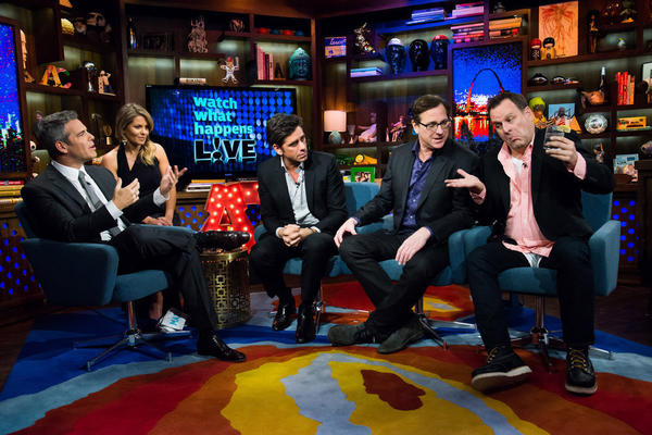 'Full House' alum on 'Watch What Happens Live'