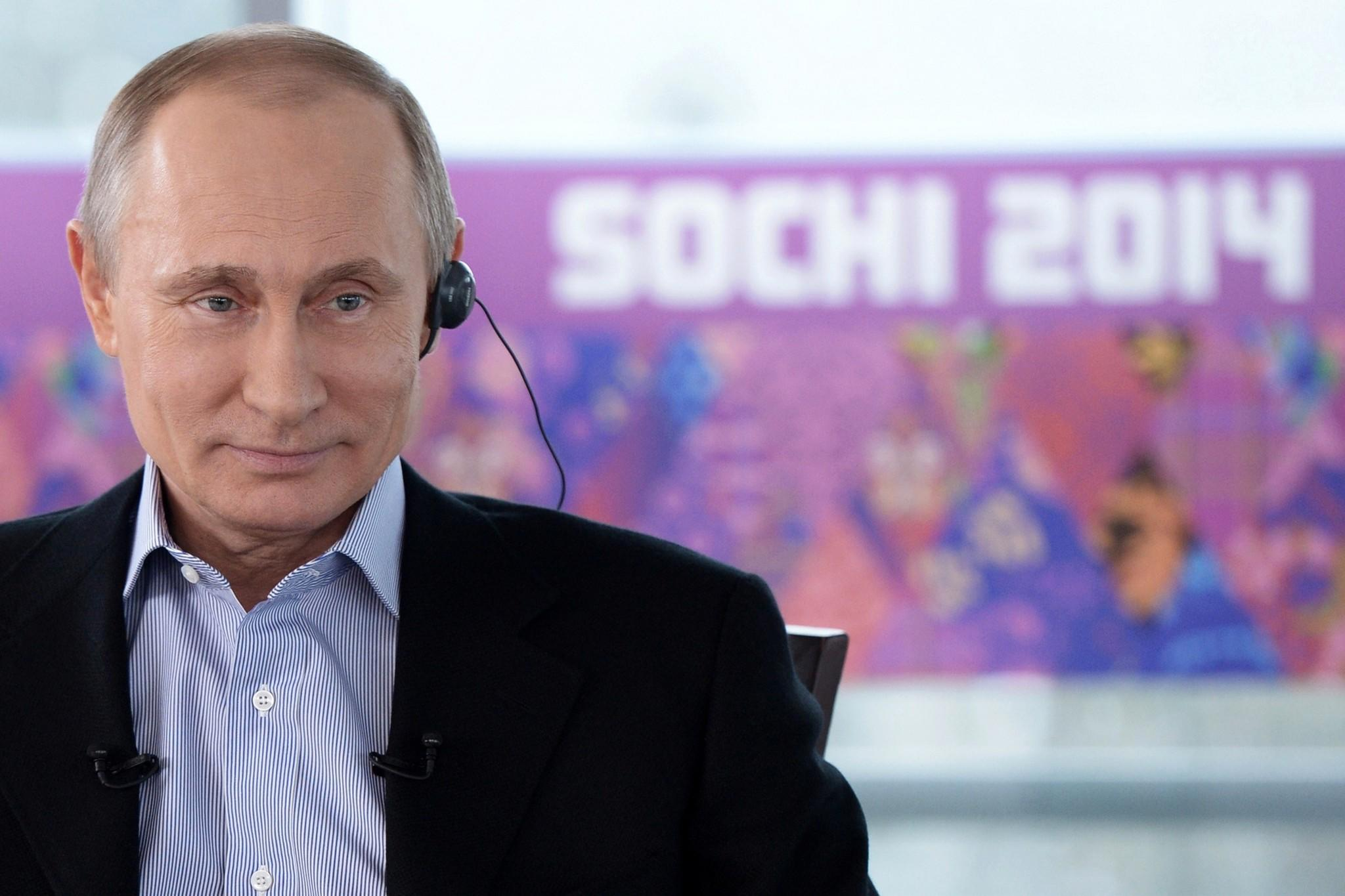 For Russian President Vladimir Putin, the Winter Olympics he brought to Sochi have always been about far more than sports.