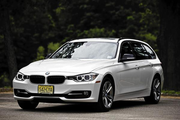 Like any 3-series, the best attribute of the BMW 328d xDrive Sports Wagon is the handling, and the extra cabin on the rear doesn't seem to detract. Above, a  BMW 3-series wagon.