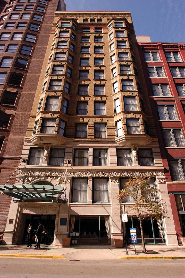 Handout photo of the Hotel Blake, 500 S. Dearborn St., in 2006.