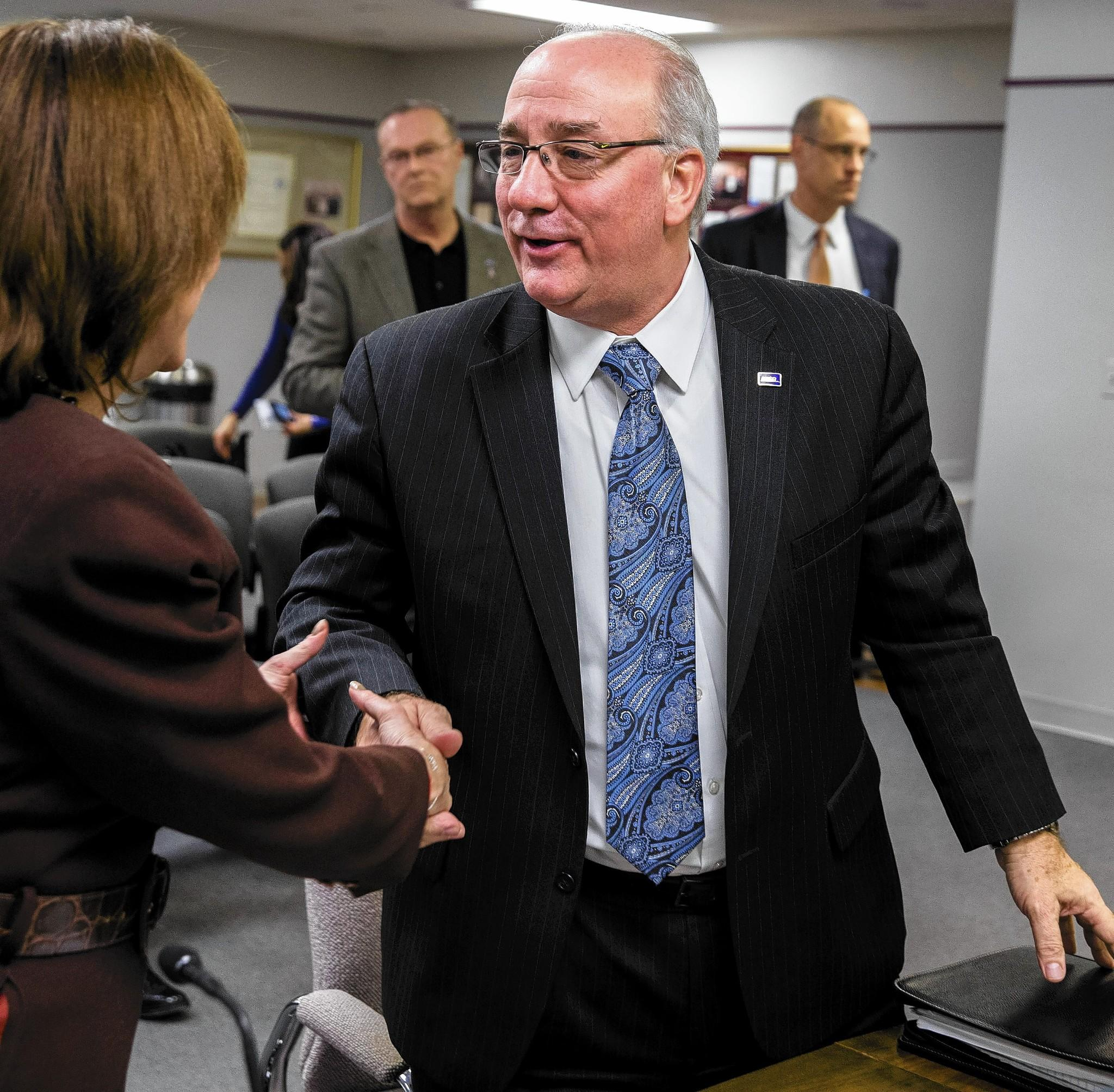 Don Orseno was named Metra's executive director during a special meeting Friday in Chicago.