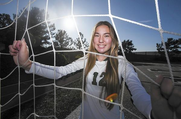 Sage Hill School girls' soccer player Claire Novotny is the Daily Pilot HIgh School Athlete of the Week.