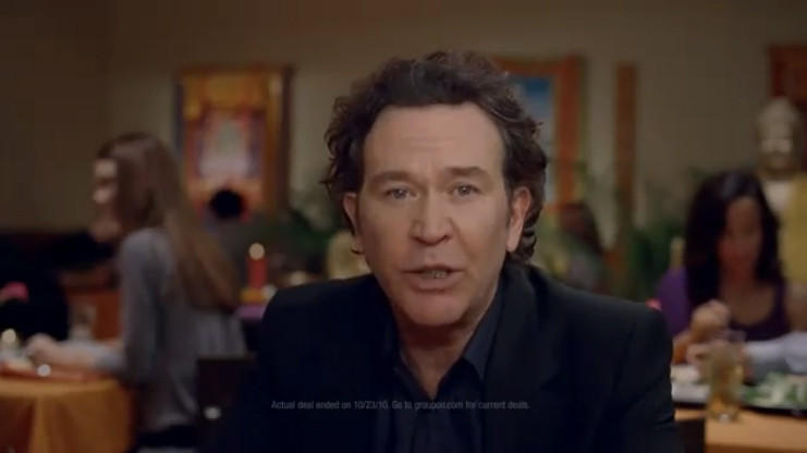 "The Chicago-based Internet business that offers a variety of discount deals cheapened itself with a Super Bowl ad Sunday on Fox that trivialized the oppression of the people of Tibet and unleashed a riptide of criticism online. ""The people of Tibet are in trouble,"" actor Timothy Hutton said in the ad, which begins in the fashion of a public service announcement. ""Their very culture is in jeopardy. But they still whip up an amazing fish curry."" And then Hutton touted the 50-percent discount he and other Groupon users supposedly received at a Chicago Himalayan restaurant. ""Save the money,"" the ads' tagline says. ""Unlock great deals in your town: Groupon.com."""