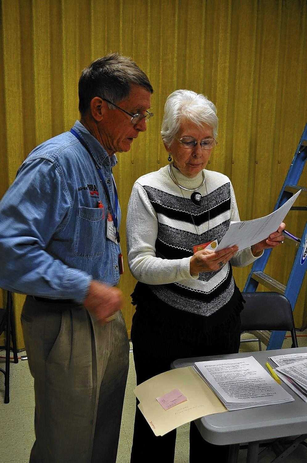 The local AARP chapter provides a volunteer tax aid team that offers free tax preparation help in five different locations on the Peninsula