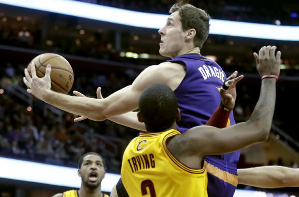 Suns point guard Goran Dragic is averaging 19 points and six assists a game this season.