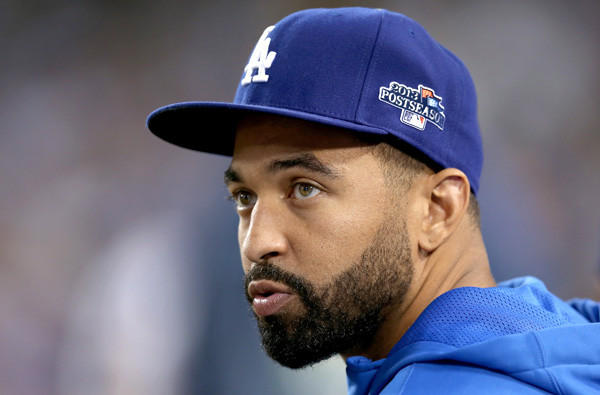 Dodgers center fielder Matt Kemp.