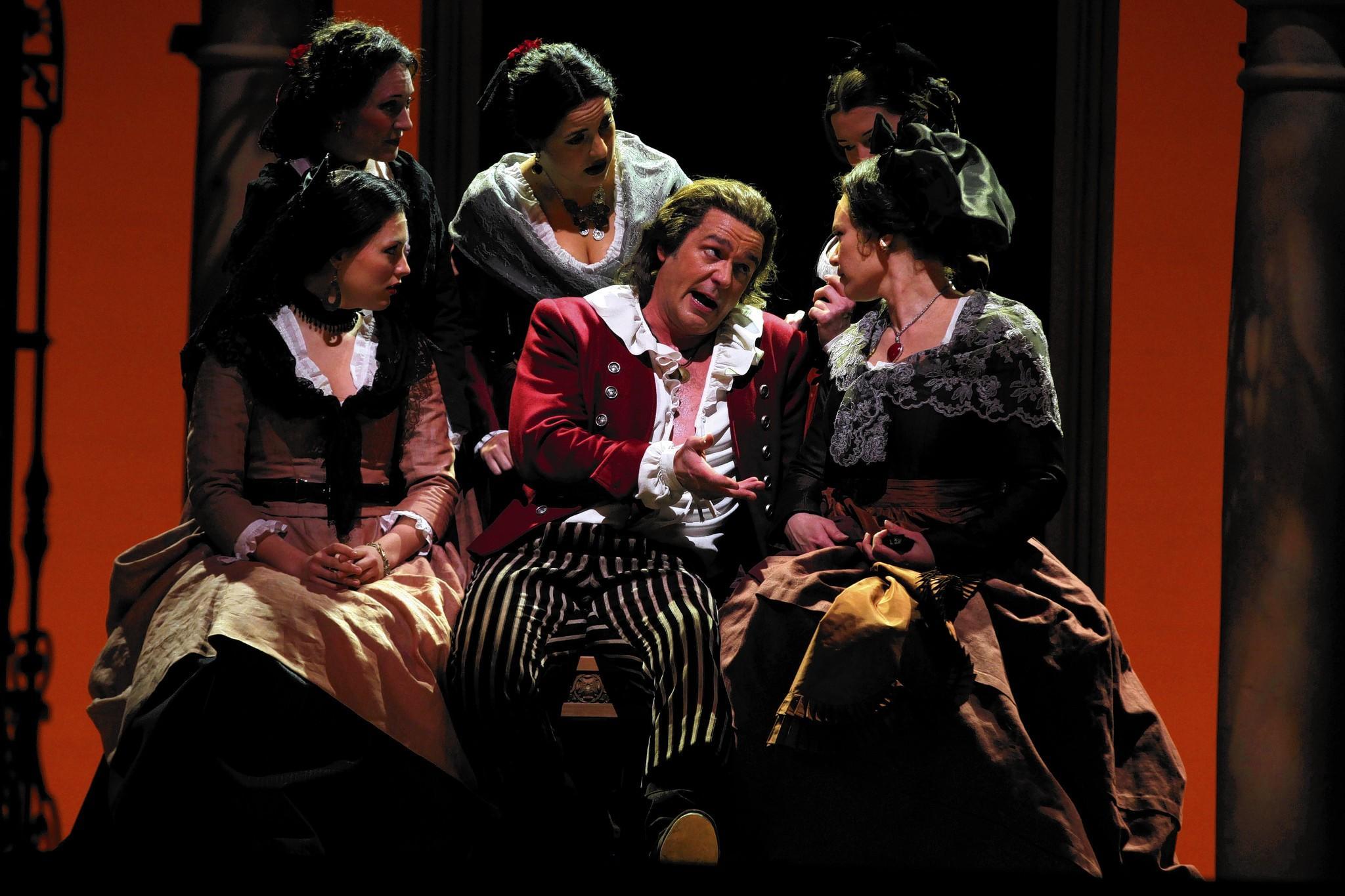 Barber Of Seville Summary : Review: Barber of Seville at the Lyric Opera - tribunedigital ...
