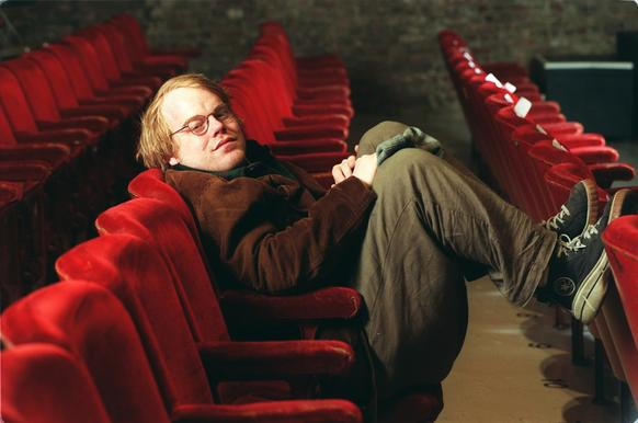 Philip Seymour Hoffman at the New York Theatre Workshop, New York City.