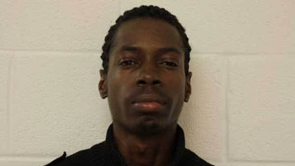 Booking photo of Andre Bacon