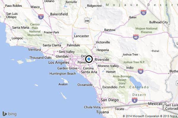 Earthquake 31 quake strikes near Rancho Cucamonga latimes