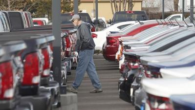 GM, Ford, Toyota auto sales plunge with January's cold weather