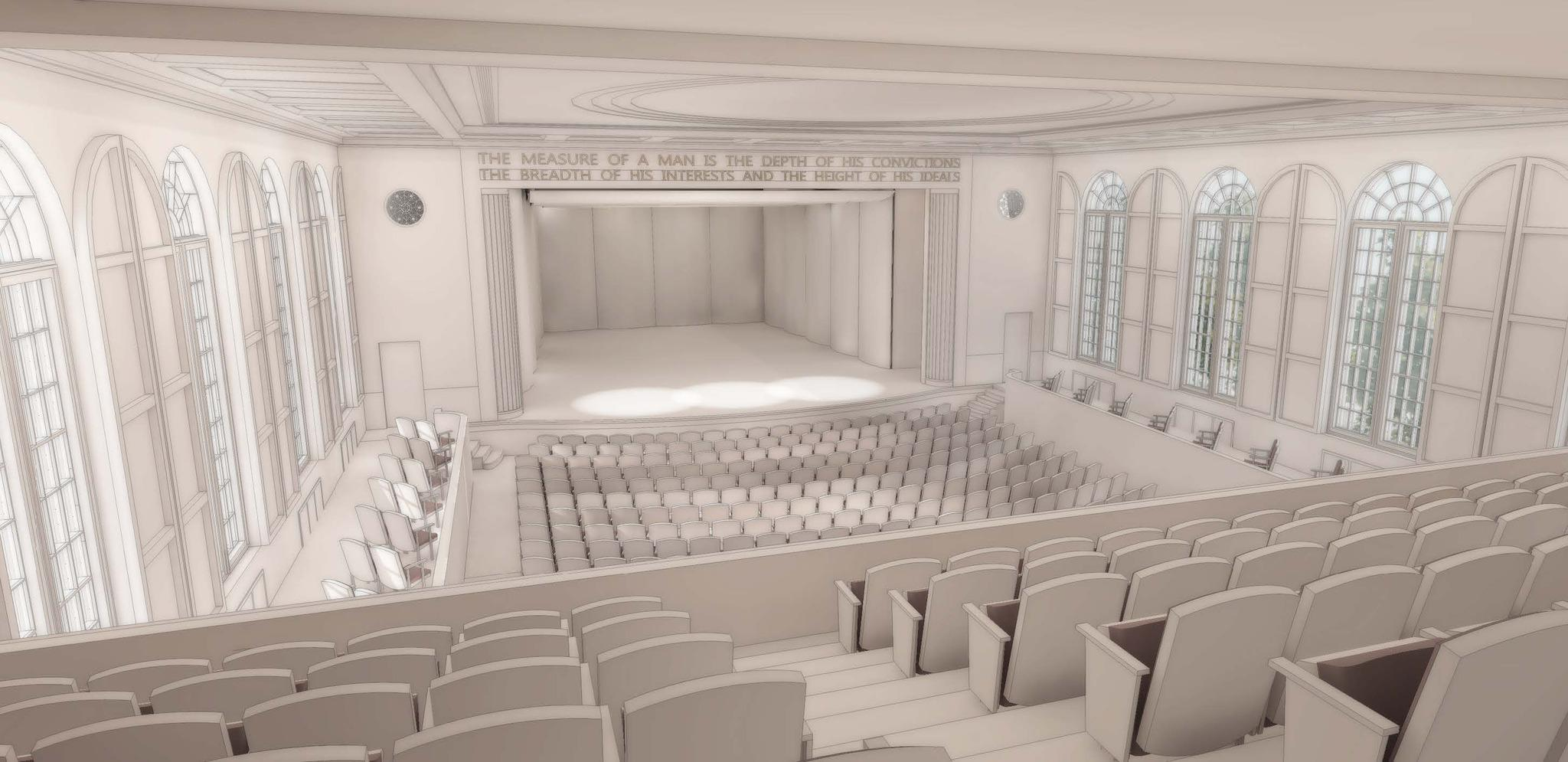The Maryland Hall for the Creative Arts in Annapolis will undergo an $18 million renovation project to modernize and improve its performing arts wing. The first phase will take place beginning in June and will include the renovation of the theaters orchestra level seating and upgrades to the stage area.