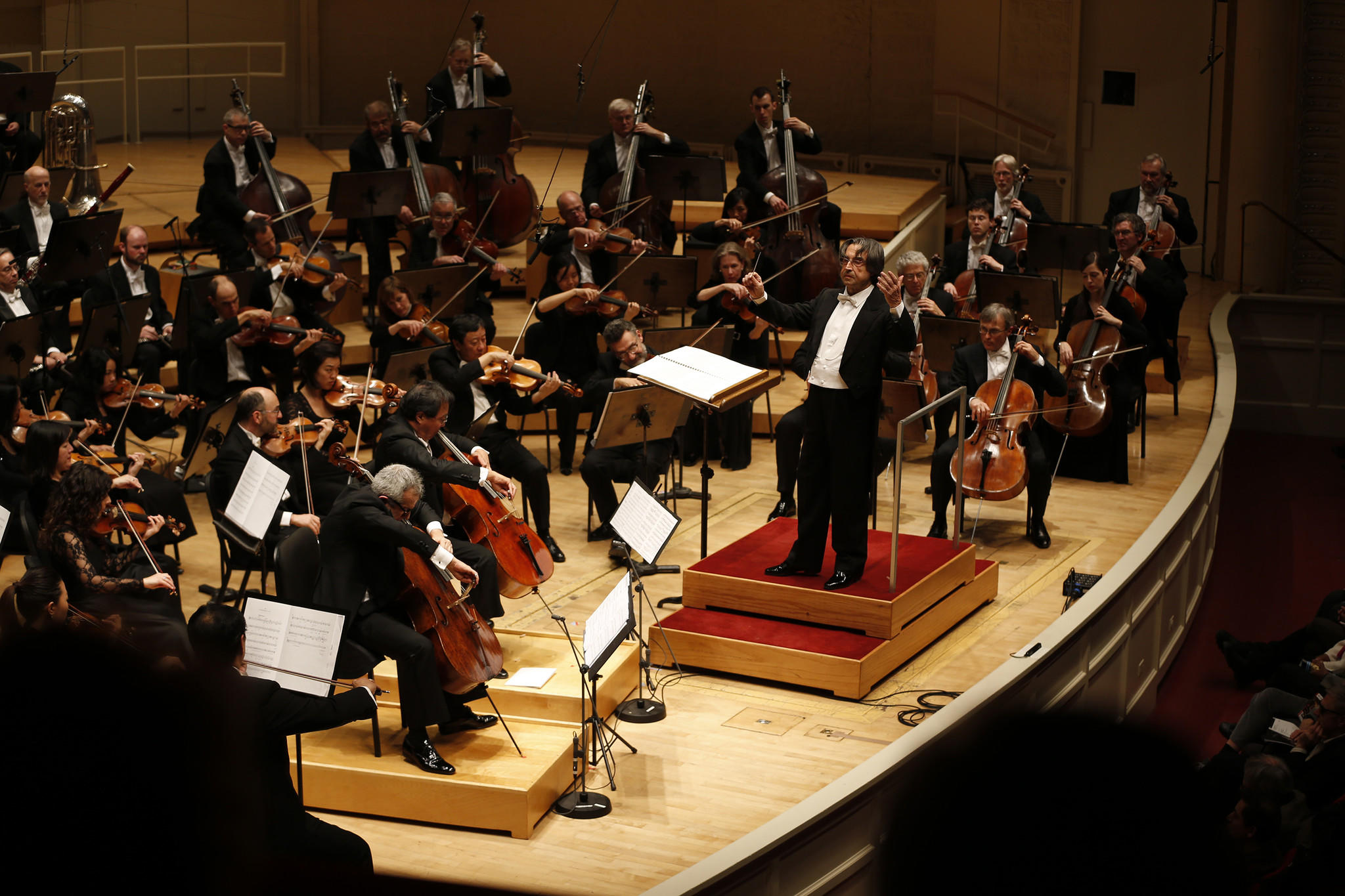 Riccardo Muti performs at his winter Chicago Symphony residency with cellists Yo-Yo Ma and Giovanni Sollima.