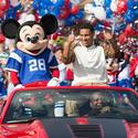 Super Bowl MVP Malcolm Smith at Disney World