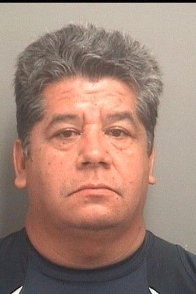 Jose Estrada, 51, is charged with two counts of aggravated assault, two counts of firing a missile into a vehicle and one count of discharging a firearm from a vehicle.