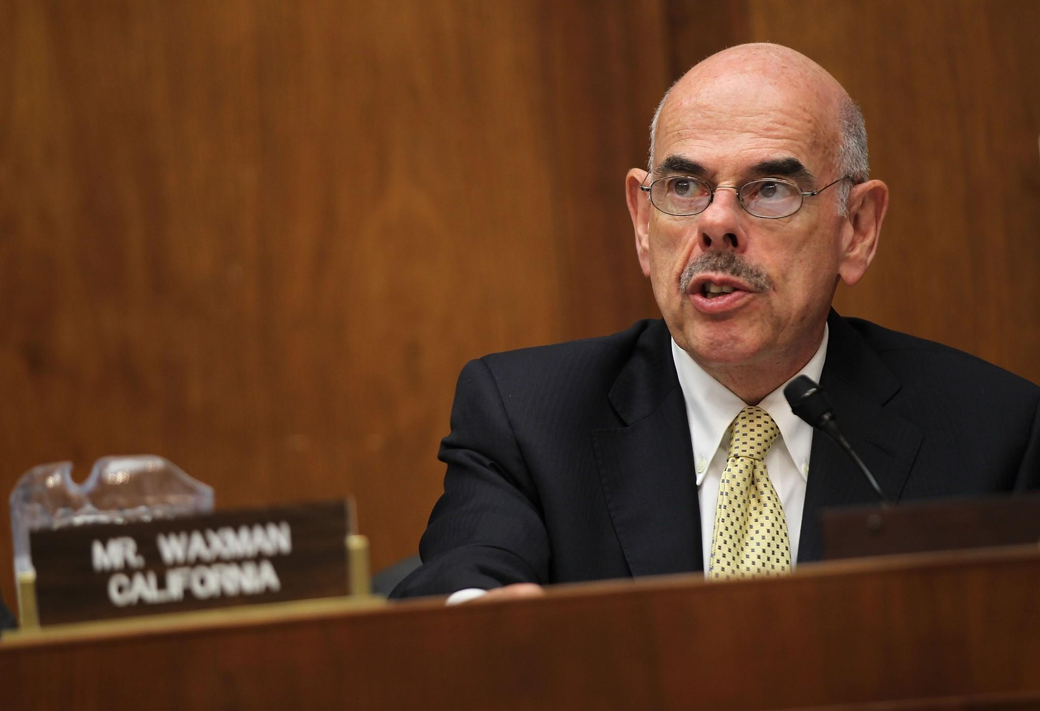 "Rep. Henry A. Waxman (D-Beverly Hills), shown at a hearing on Capitol Hill in May 2011, has proposed legislation that would let the Federal Communications Commission continue to enforce ""net neutrality"" rules that an appeals court threw out last month."