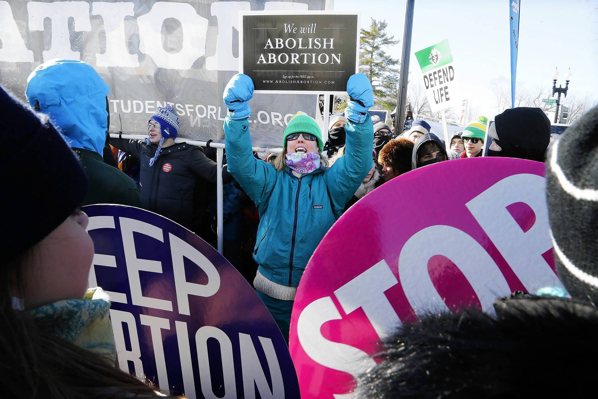 There were nearly half a million fewer abortions in 2011 than in 1991, according to a new study.
