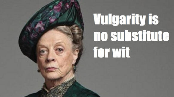 """Downton Abbey"" is filled with interesting, nuanced characters. But none get as many wonderful quips as Lady Violet, the Dowager Countess of Grantham. And no one delivers their lines with quite as much panache as the inimitable Maggie Smith. So here are some of Lady Violet's best gems."