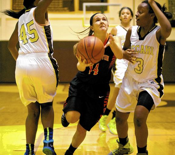 Northampton's Leandra Sterner (14) is the Athlete of the Week.