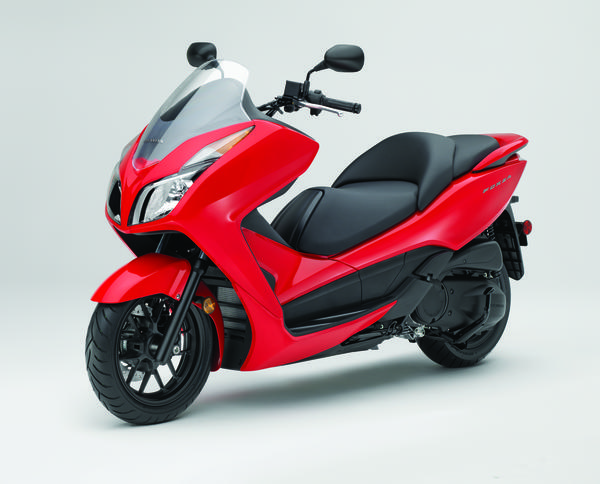Honda's Forza is a sleek urban scooter with plenty of pep and generous storage capacity.