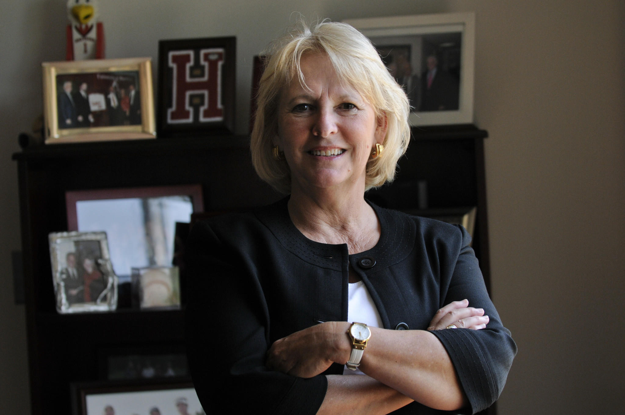 Pat Meiser, University of Hartford athltic director, is retiring.