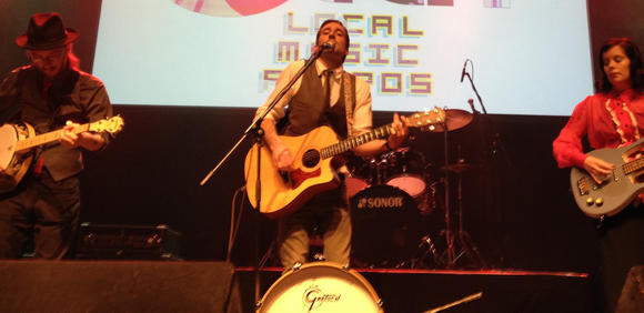The Framers, a band based on the Peninsula, won Album of the Year honors at the 2014 Veer Local Music Awards.
