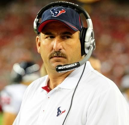 Benton spent the previous eight seasons coaching the Houston Texans, which arguably featured one of the best offensive lines in the NFL the past couple of seasons.