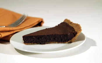 Brownie pie