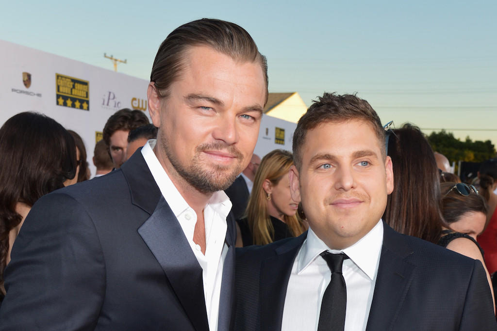 Leonardo DiCaprio and Jonah Hill, shown here at the Critics' Choice Movie Awards last month, are reportedly planning to re-team for a film based on the story of Richard Jewell, the security guard wrongly accused in the deadly Atlanta Olympics bombing in 1996.