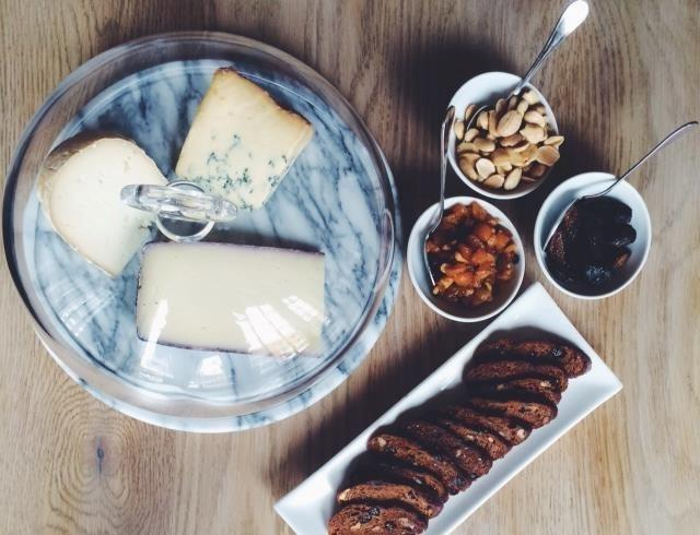 Unwind with a new wine and cheese flight at MK.