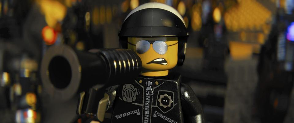"""Scene from the film, """"The Lego Movie."""""""