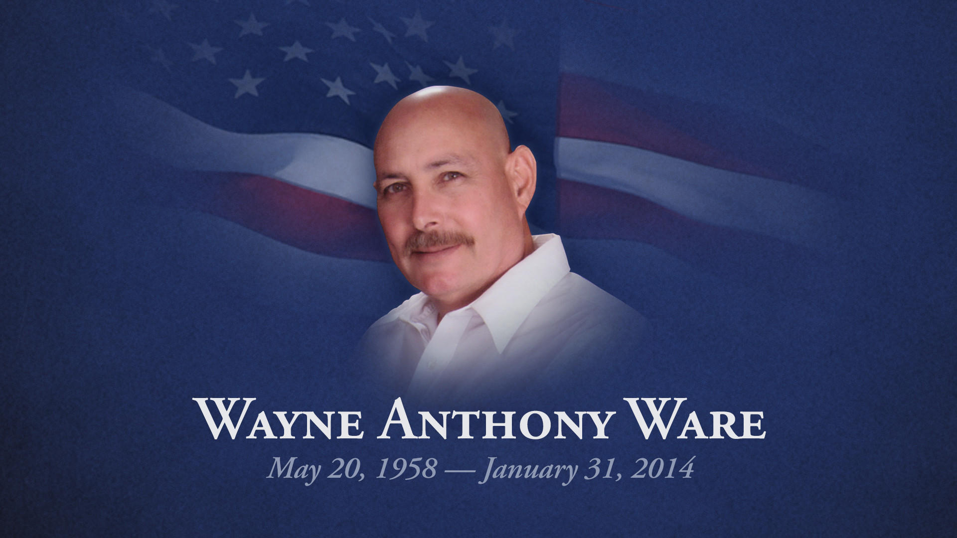Wayne Ware, an Air Force veteran who served 25 years with the Lauderhill Fire-Rescue Department, has died.