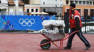 Photos: Last-minute preparations in Sochi