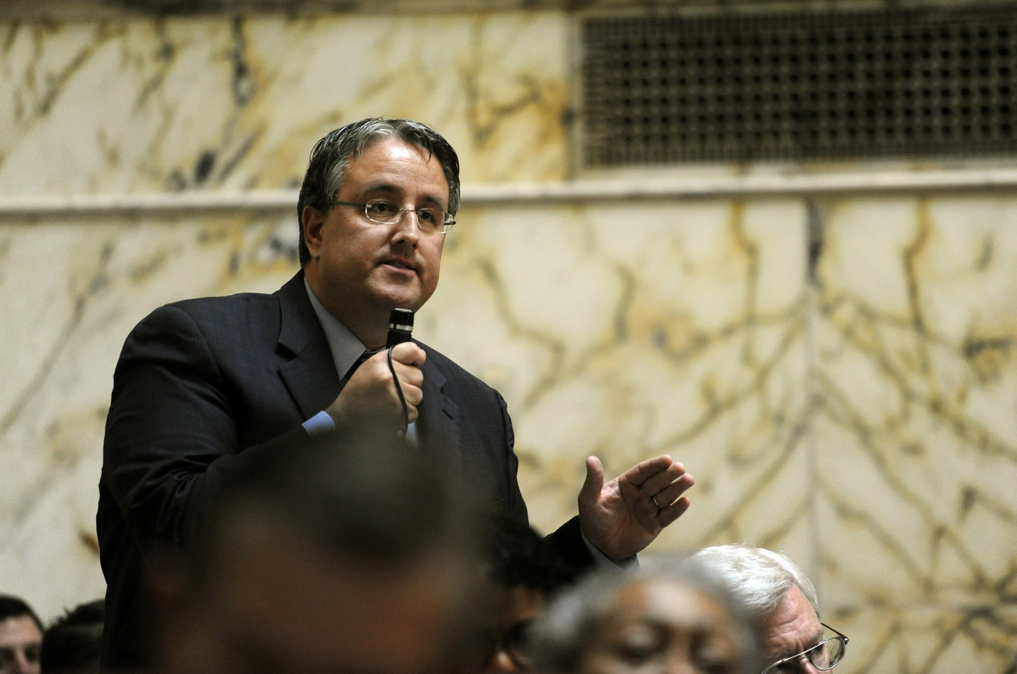 Sen. Richard Madaleno is lead sponsor of a bill that seeks to protect transgender people from discrimination in housing, at work and in public places. 2012 File Photo