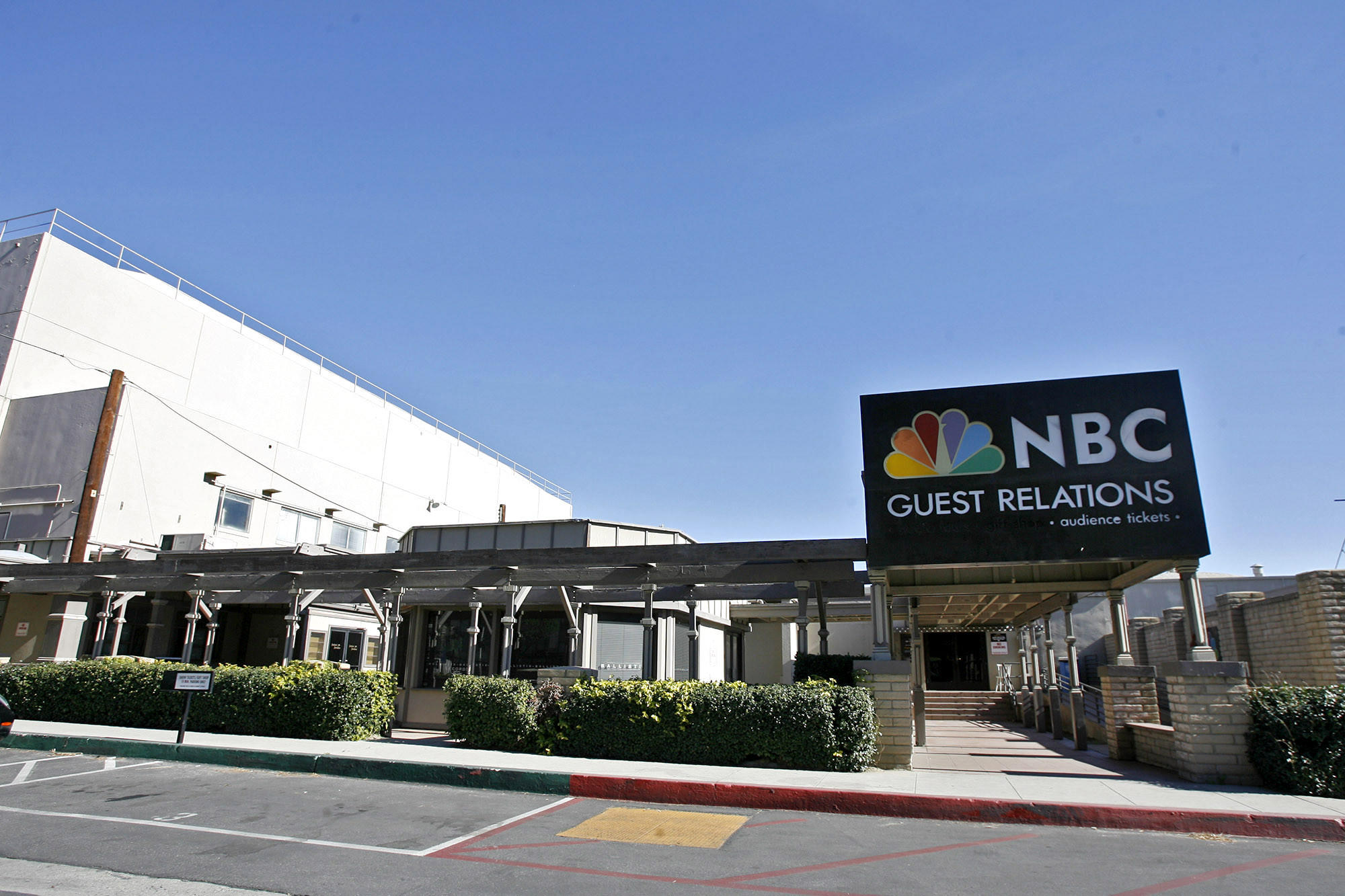 NBC Studios in Burbank Ca., on Sat. January 19, 2013.