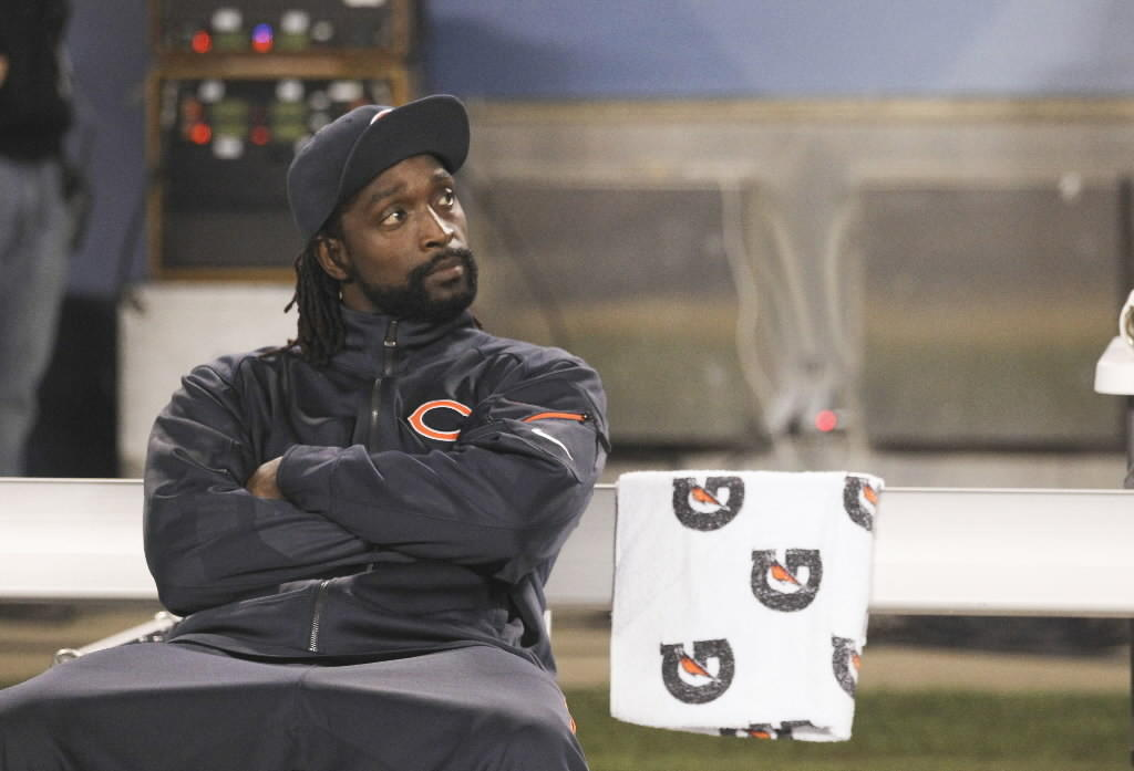 The Bears' Charles Tillman before his team's game against the New York Giants at Soldier Field Oct. 10, 2013.