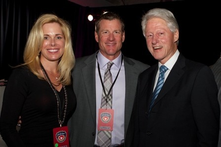 Celeb-spotting around South Florida - President Bill Clinton