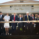 Donald, Ivanka and Eric Trump Unveil New Villa at Trump National Doral Miami