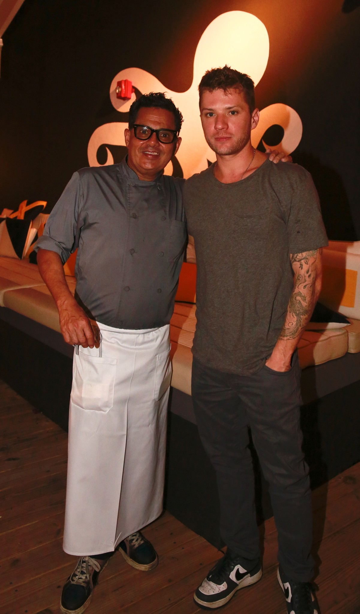 Celeb-spotting around South Florida - Ryan Phillippe in Miami