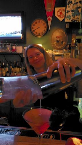 Betsy Bentley, bartender at The Dublin in East Hampton.