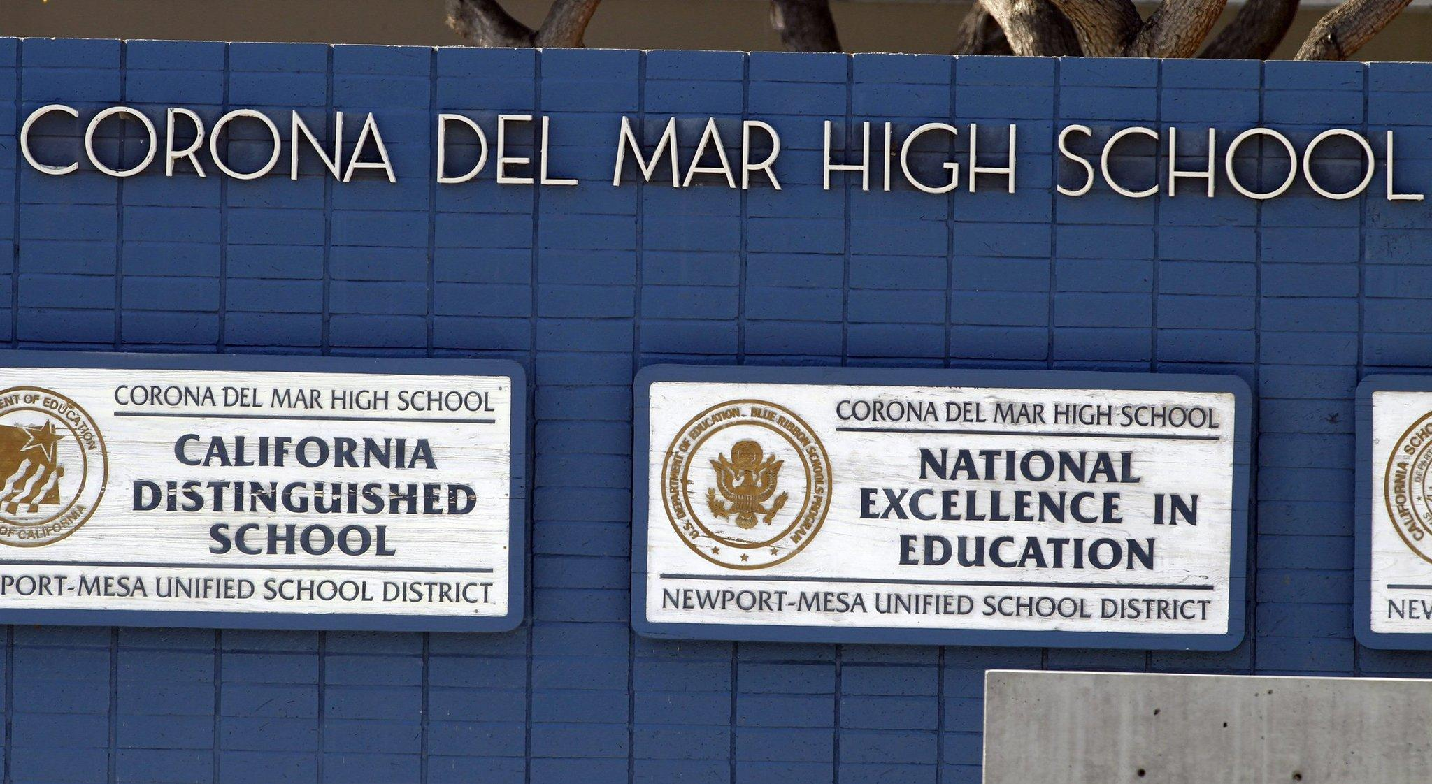 Eleven students at Corona del Mar High School were expelled in a cheating scandal.