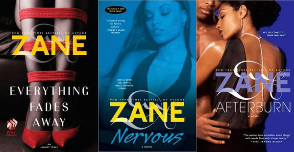 Novels by Zane