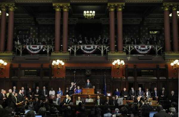 Gov. Dannel P. Malloy will give the State of the State address Thursday.
