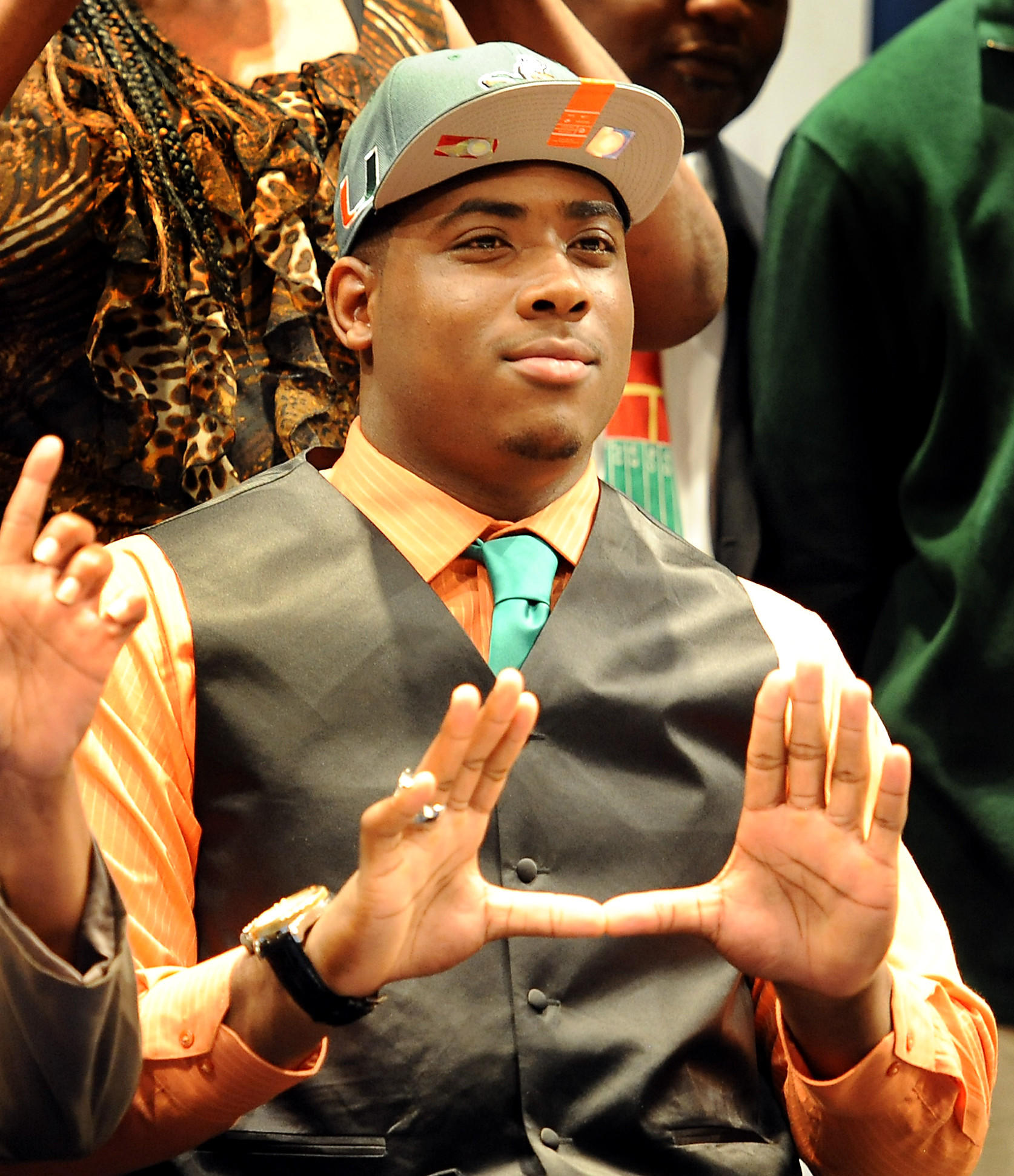 Anthony Moten, of St. Thomas Aquinas, will attend University of Miami.